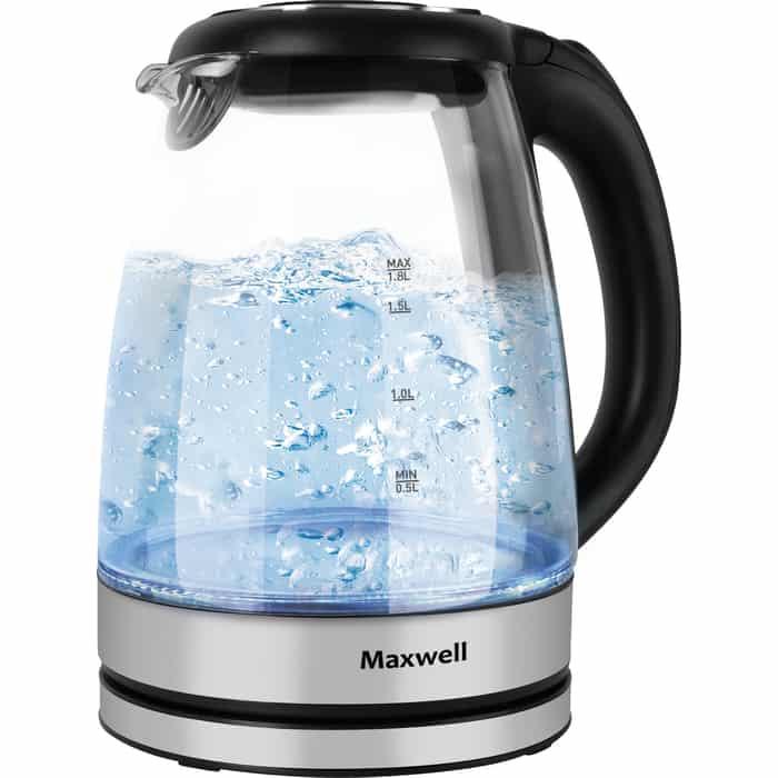 Чайник электрический Maxwell MW-1089(TR) чайник электрический maxwell mw 1083 стекло