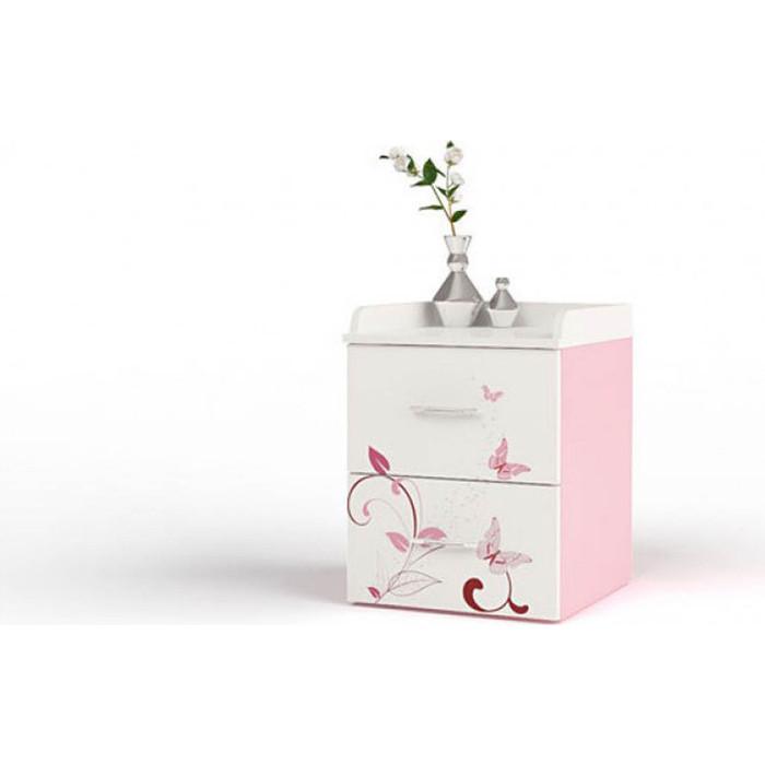 Тумба ABC-KING Фея розовая прикроватная