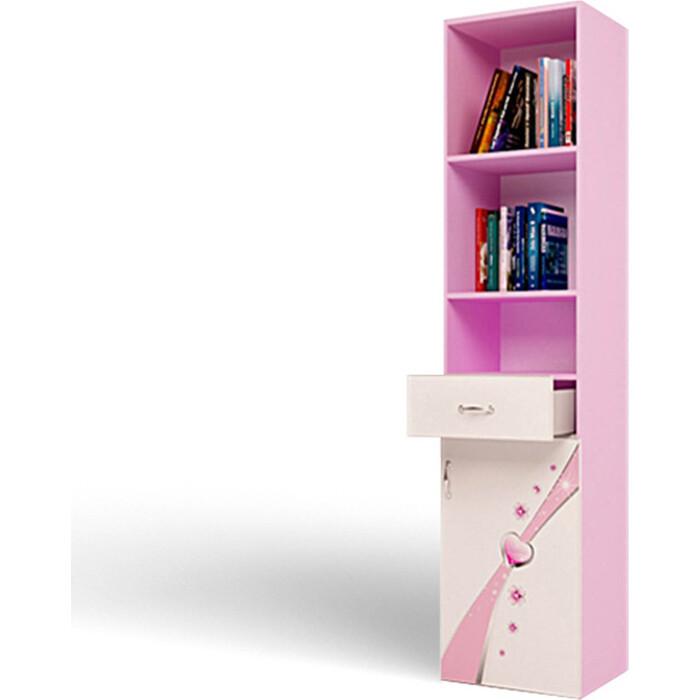 Стеллаж ABC-KING Princess правый розовый