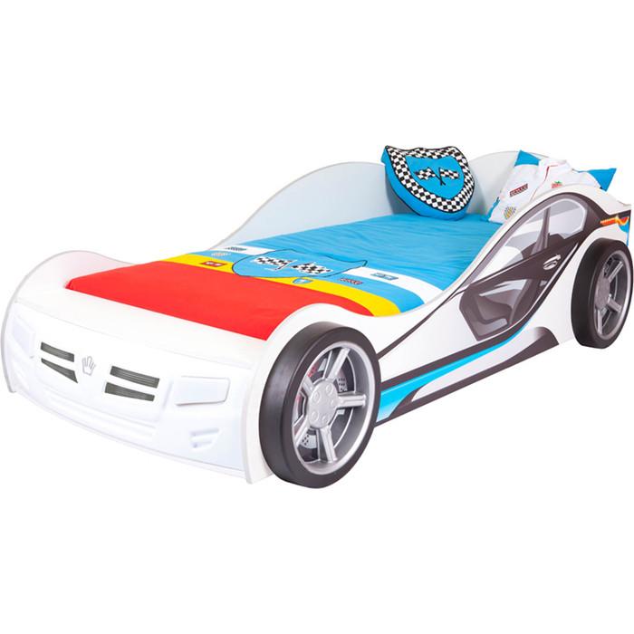 Кровать-машина ABC-KING La-Man 190x90 синий