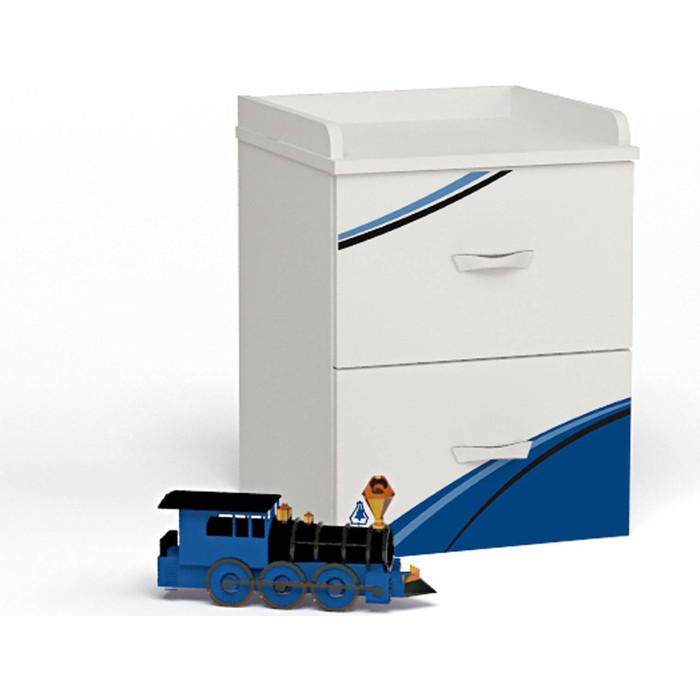 Тумба ABC-KING LA-man синяя прикроватная