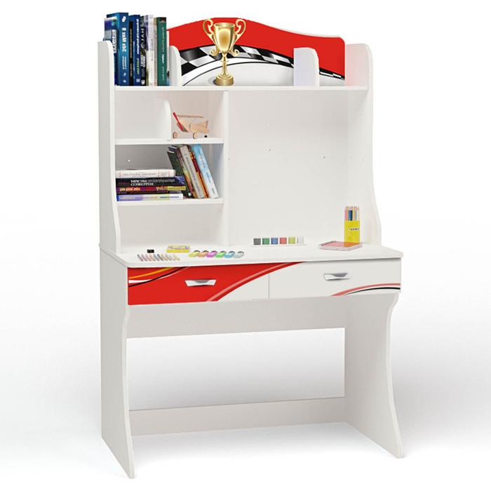 Стол ABC-KING La-Man красная с надстройкой детские столы и стулья abc king стол с надстройкой la man