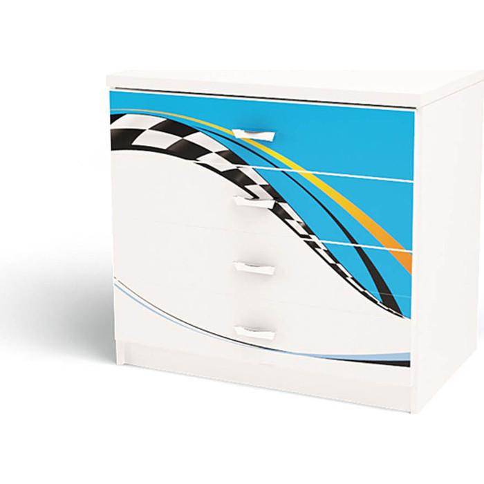 Комод ABC-KING La-Man 4 ящика голубой