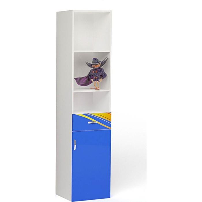 Фото - Стеллаж ABC-KING Champion синий правый узкий шкафы abc king стол стеллаж champion правый