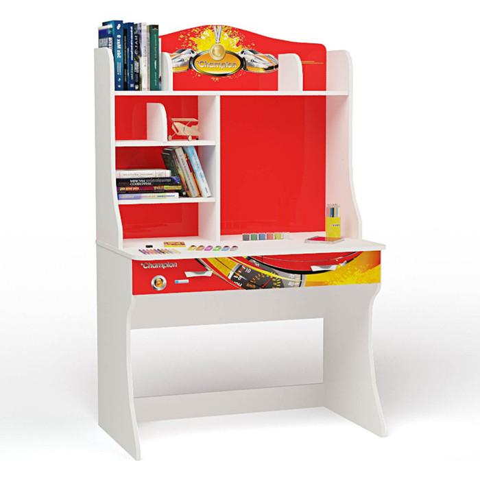 Стол ABC-KING Champion красная с надстройкой
