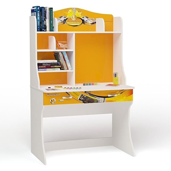 Стол ABC-KING Champion оранжевый с надстройкой