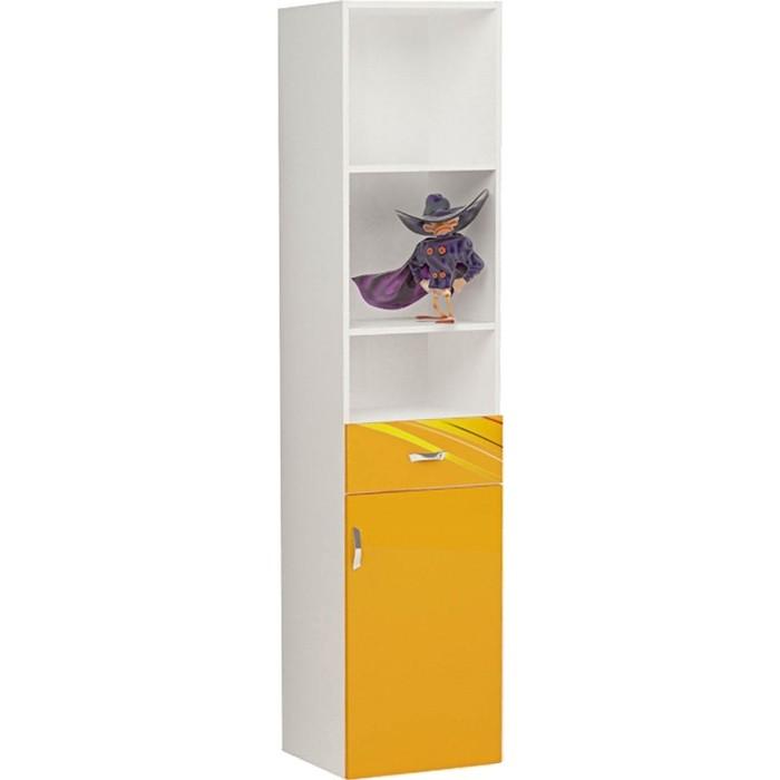 Фото - Стеллаж ABC-KING Champion оранжевый правый узкий шкафы abc king стол стеллаж champion правый