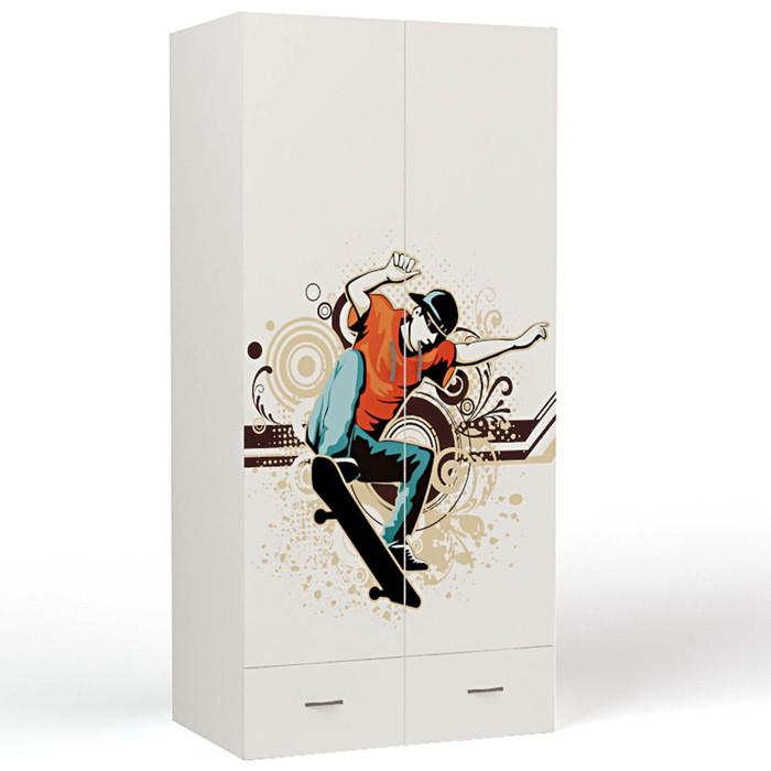 Шкаф 2-х дверный ABC-KING Extreme Skate