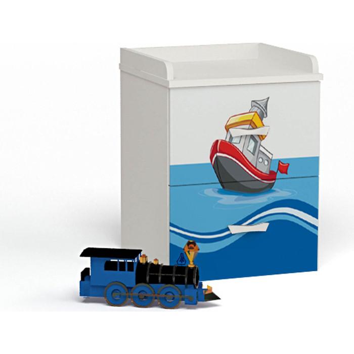 Тумба ABC-KING Ocean прикроватная тумба abc king mix голубая прикроватная