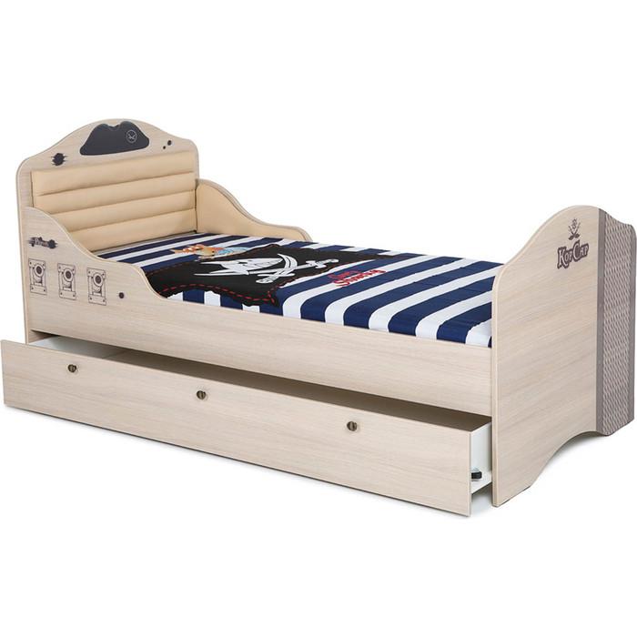 Ящик под кровать ABC-KING Pirat ваниль 180x90