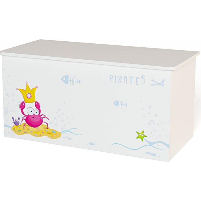 Ящик ABC-KING Для игрушек Pirates ящики для игрушек abc king ящик для игрушек ocean