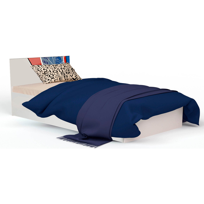 Кровать-классика ABC-KING Человек-паук с рисунком 190x120 подъемный механизм кровать классика abc king человек паук с рисунком 160x90 без ящика