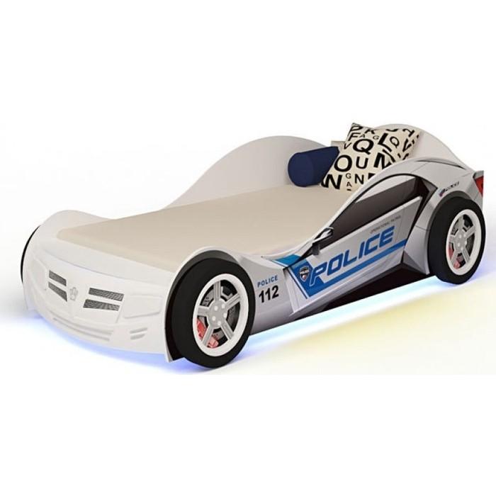 Кровать-машина ABC-KING Police 190x90