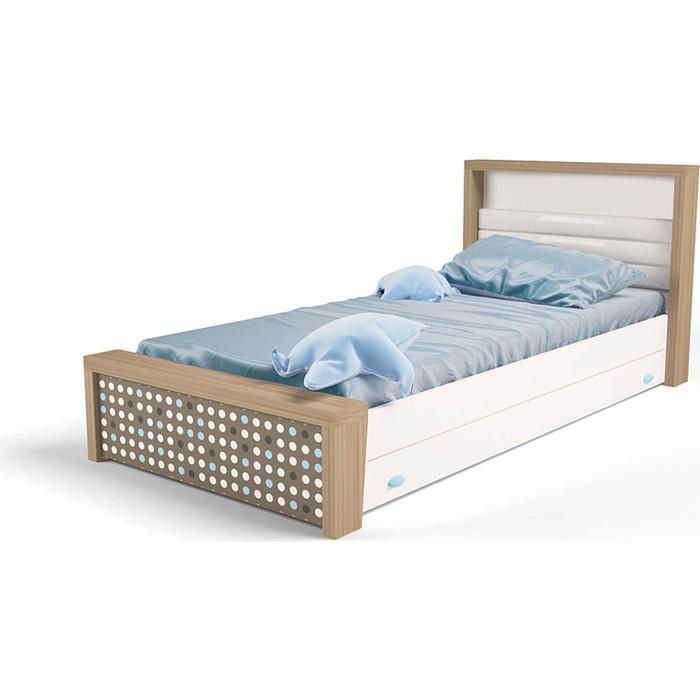 Кровать ABC-KING Mix №3 голубой 190x90