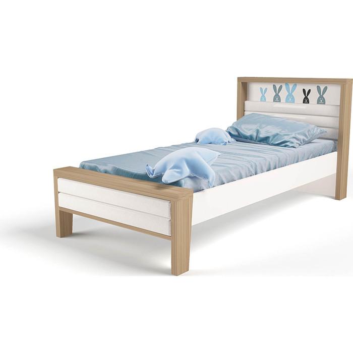 Кровать ABC-KING Mix bunny №2 мягкое изножье 190x90