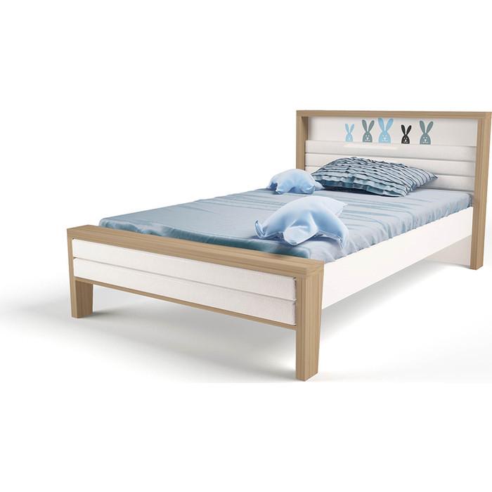 Кровать ABC-KING Mix bunny №2 мягкое изножье 190x120