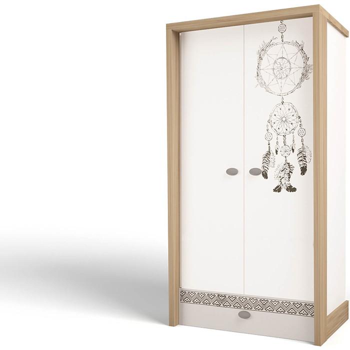 Шкаф ABC-KING 2-х дверный Mix 2 Ловец снов