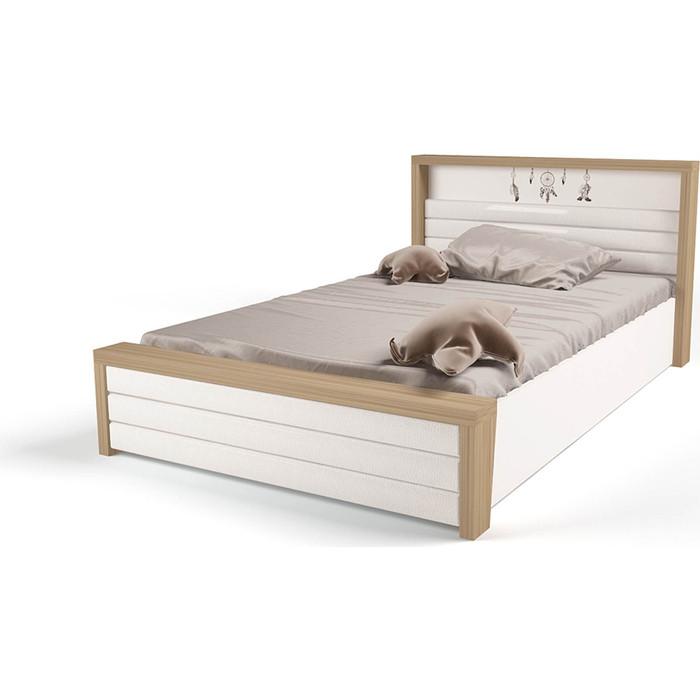 Кровать ABC-KING Mix Ловец снов №6 подъемный механизм/мягкое изножье 160x90