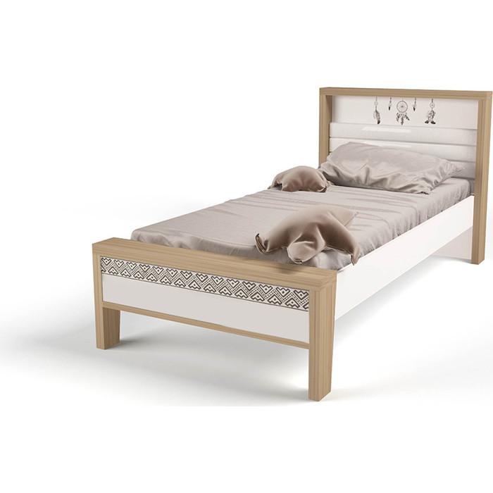 Кровать ABC-KING Mix Ловец снов №2 мягкое изножье 190x90