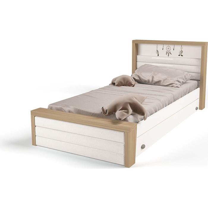 Кровать ABC-KING Mix Ловец снов №4 мягкое изножье 190x90