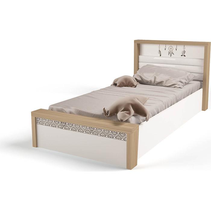 Кровать ABC-KING Mix Ловец снов №6 подъемный механизм/мягкое изножье 190x90