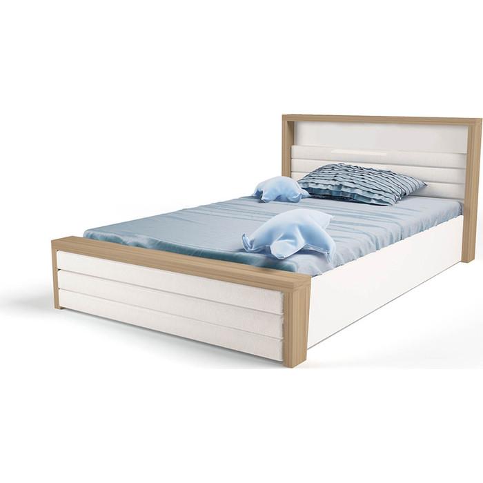 Кровать ABC-KING Mix №6 подъемный механизм/мягкое изножье 160x90