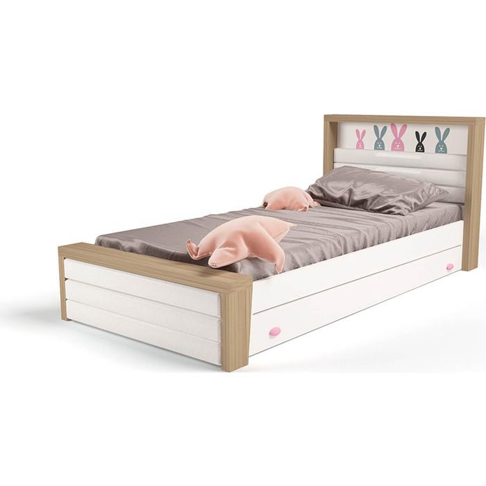 Кровать ABC-KING Mix №4 мягкое изножье 190x120