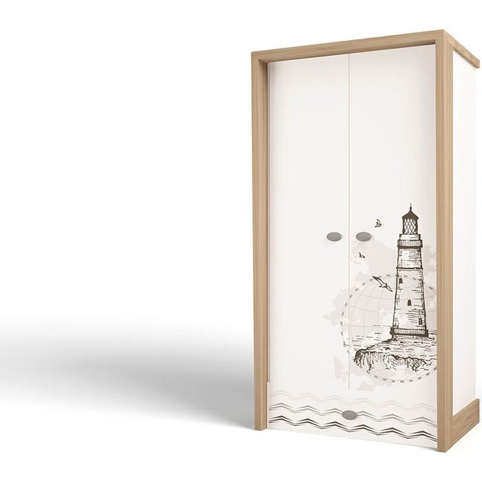 Шкаф ABC-KING Mix Ocean cream 2-х дверный