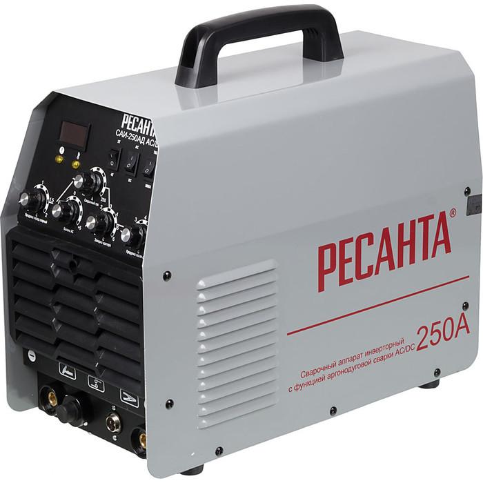 Сварочный инвертор Ресанта САИ-250АД AC/DC сварочный аппарат brima tig 160 ac dc