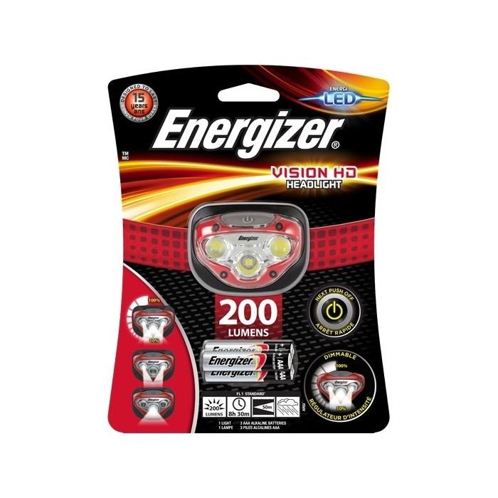 Фонарь налобный ENERGIZER ENR HL Vision HD 3xAAA, tray