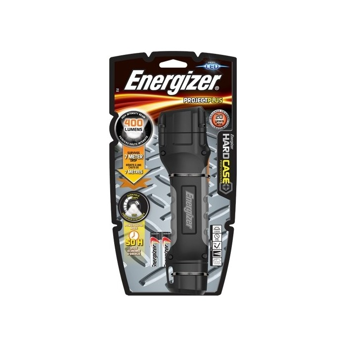 Фонарь ENERGIZER ENR Hard Case Project Plus 4xAA