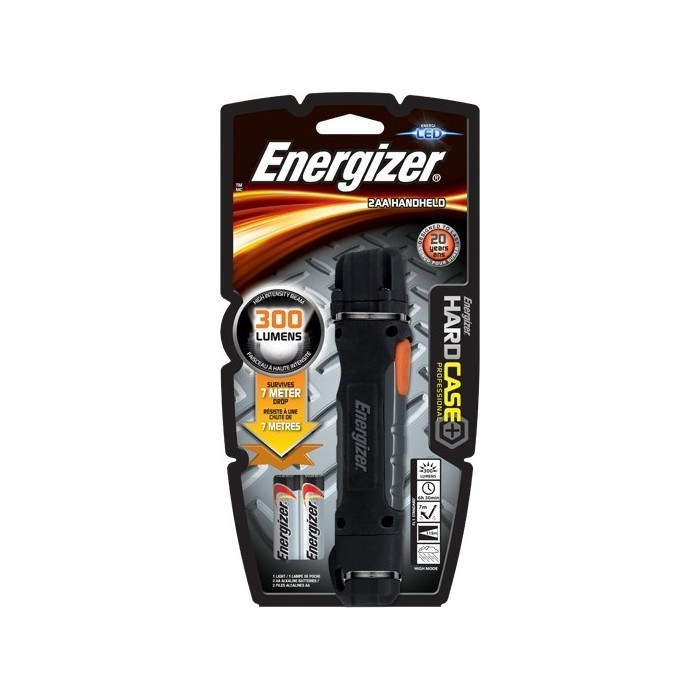 Фонарь ENERGIZER ENR Hard Case Pro 2xAA