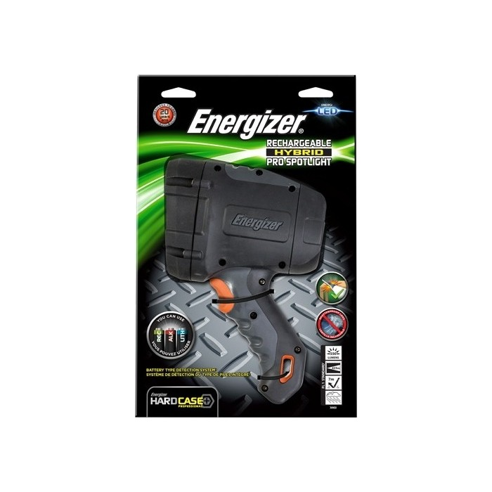 Фонарь ENERGIZER ENR Hard Case Pro Rech LED Spotlight 6AA