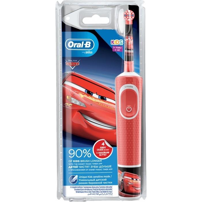 Электрическая зубная щетка Oral-B Vitality kids Cars (D100.413.2K) (3+ лет)