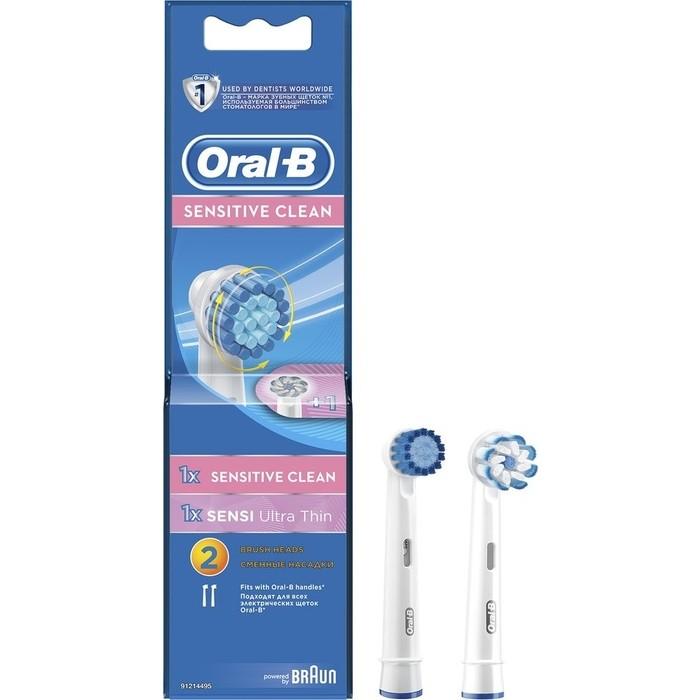 Насадка для электрических зубных щеток Oral-B EBS17 1шт+EB60 Ultra Thin 1шт