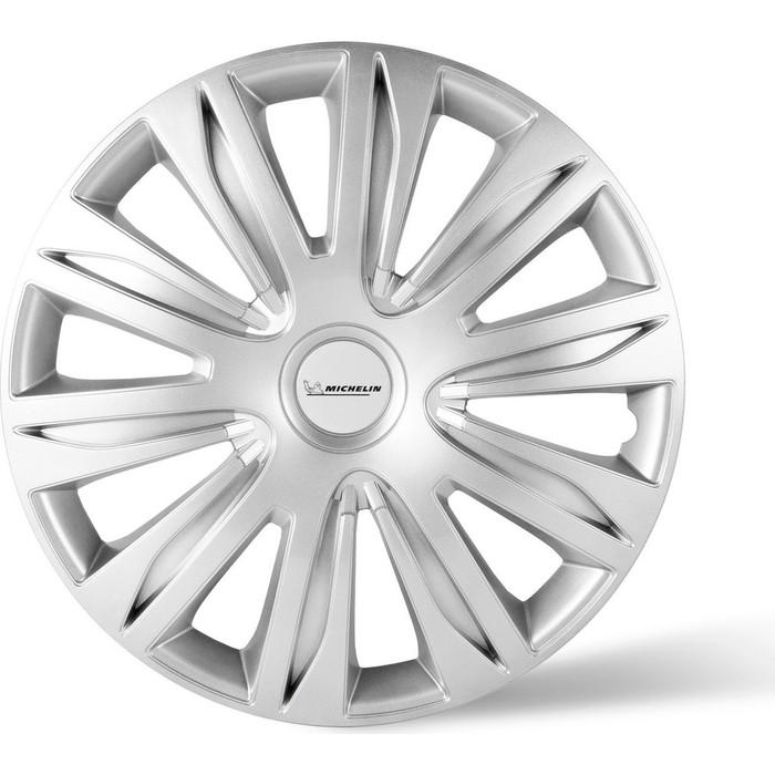 Колпаки колесные MICHELIN 16, 42 Нардо, серебристый, 4 шт.