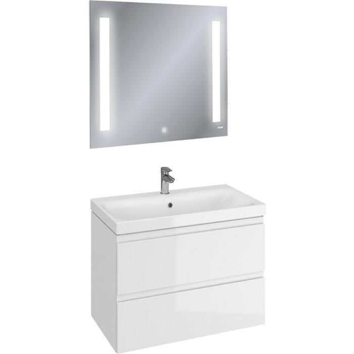 Мебель для ванной Cersanit Moduo 80 два ящика, белая