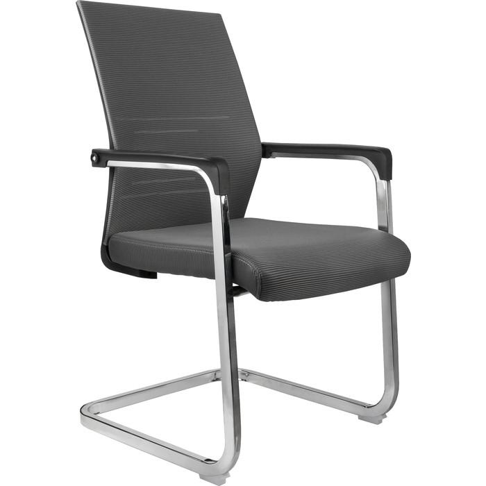 Кресло Riva Chair RCH D818 серая сетка на полозьях