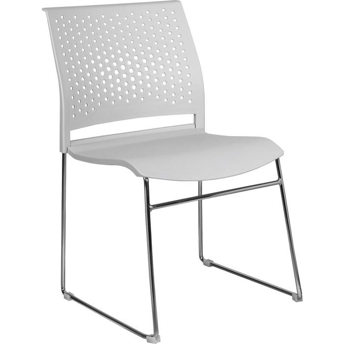 Кресло Riva Chair RCH D918 (D918-1) светло-серый пластик