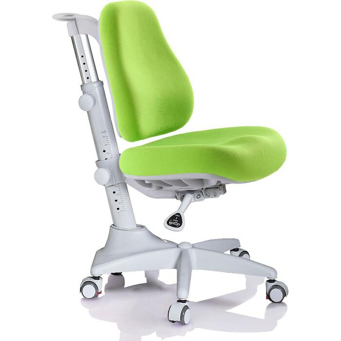 Кресло Mealux Match Y-528 KZ/grey base основание серое/обивка зеленая однотонная