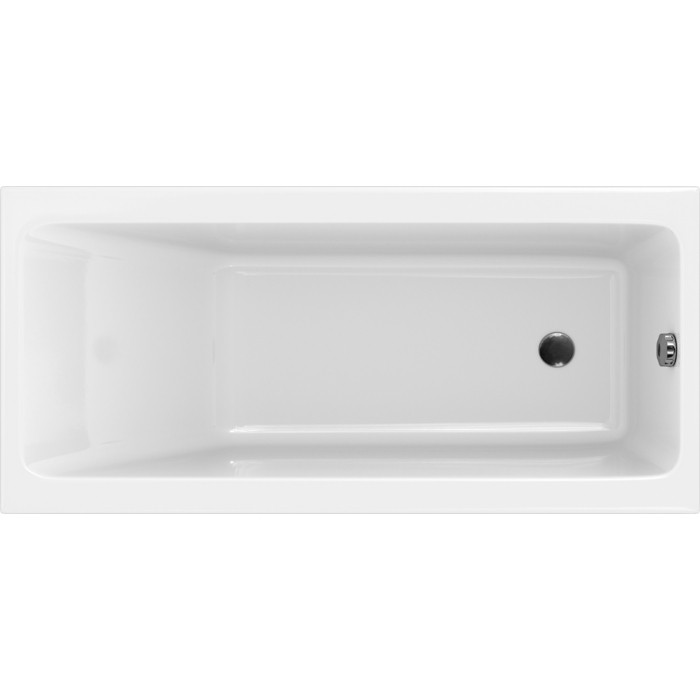 Фото - Акриловая ванна Cersanit Crea 160x75 на ножках (P-WP-CREA*160NL, ZP-SEPW1000001) акриловая ванна cersanit crea p wp crea 150nl 150x75