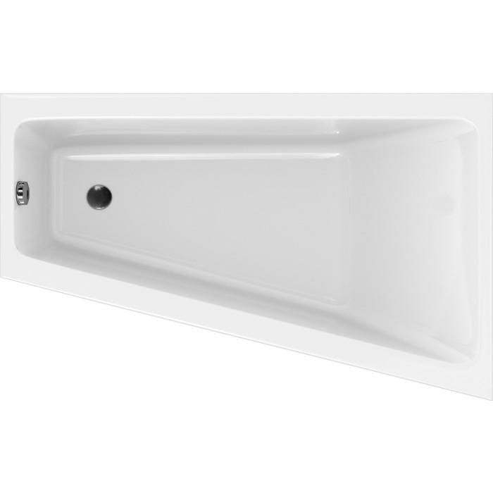 Фото - Акриловая ванна Cersanit Crea 160x100 на ножках, правая (P-WA-CREA*160-RNL, ZP-SEPW1000001) акриловая ванна cersanit crea p wp crea 150nl 150x75