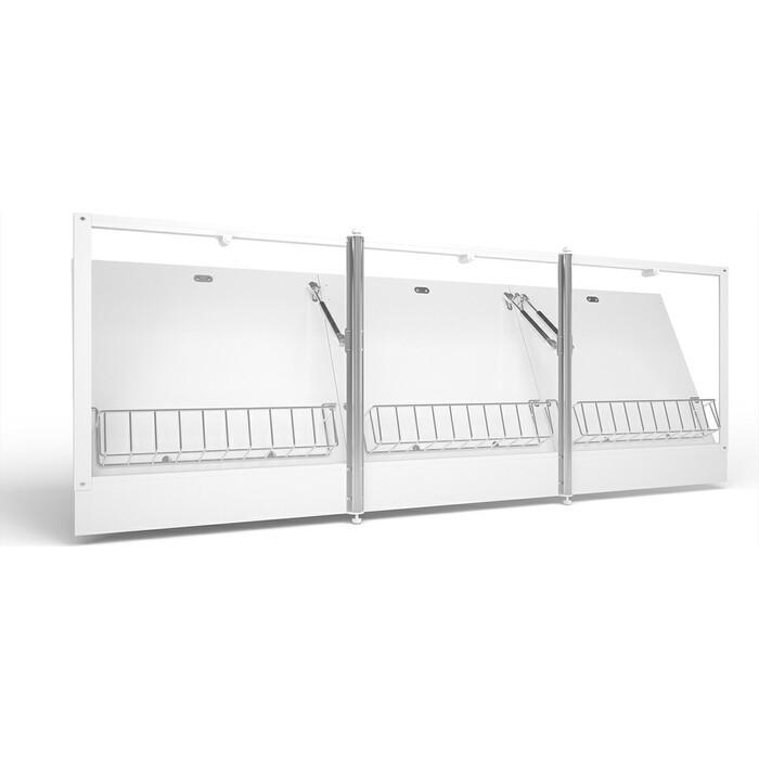 Экран под ванну Cersanit Universal 170 откидной, трехстворчатый (PA-TYPE_CLICK*170-W)