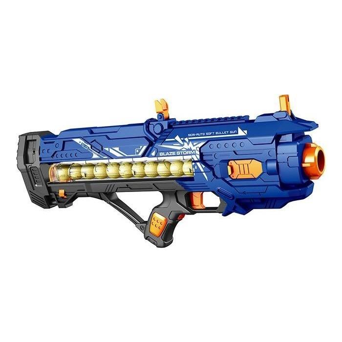 Автомат Zecong Toys с мягкими пулями на батарейках BlazeStorm - ZC7073