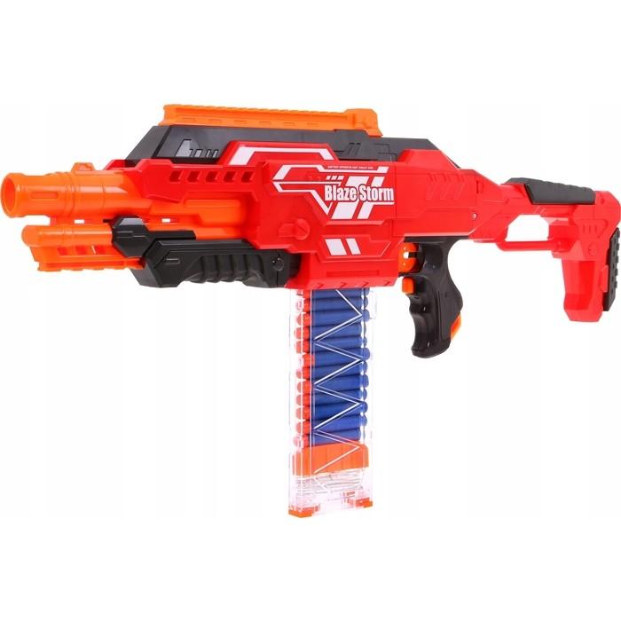Автомат Zecong Toys с мягкими пулями на батарейках BlazeStorm - ZC7100