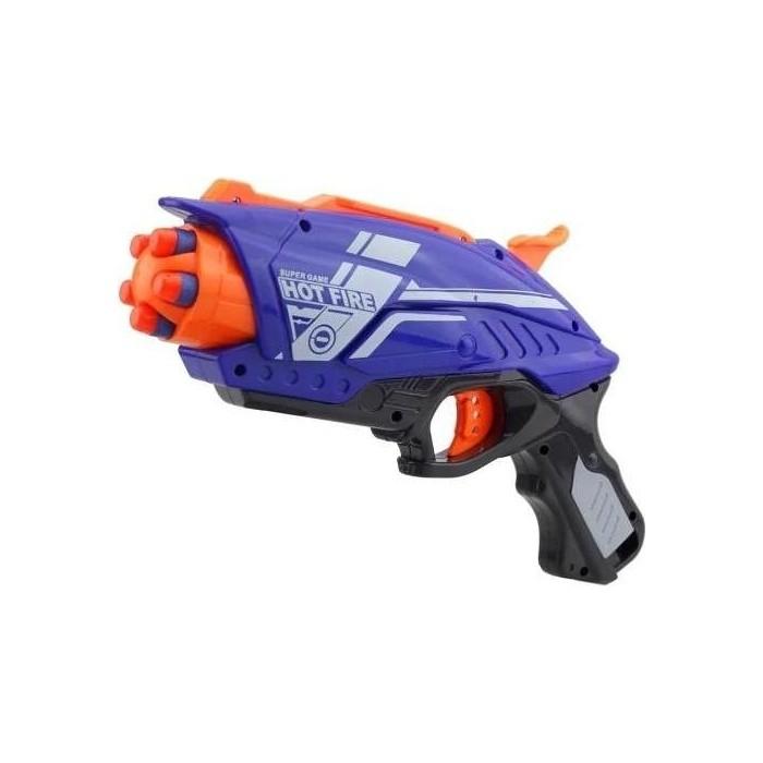 Пистолет Zecong Toys BlazeStorm с мягкими пулями - 7063