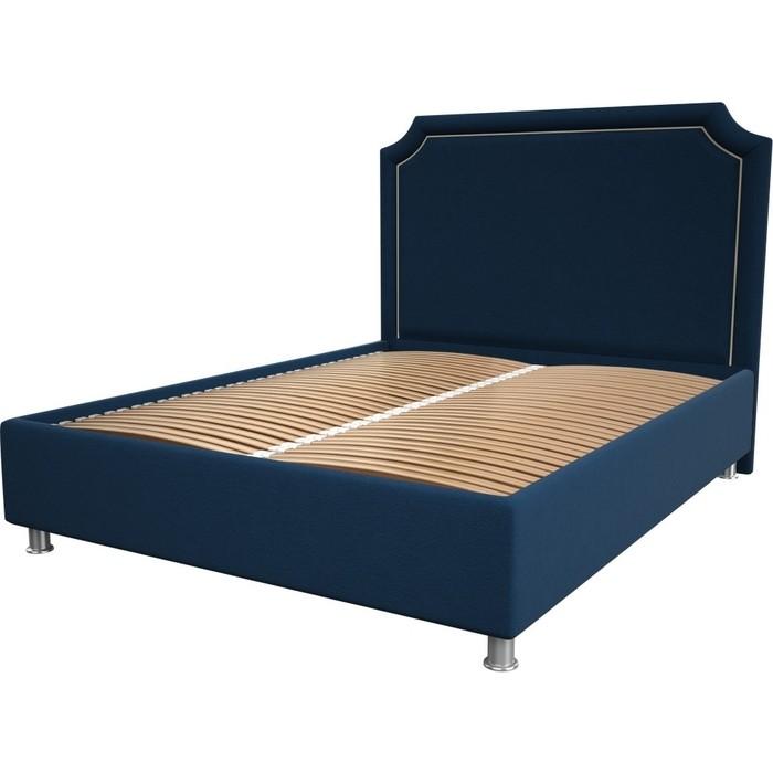 Кровать OrthoSleep Федерика blue ортопед. основание 140x200
