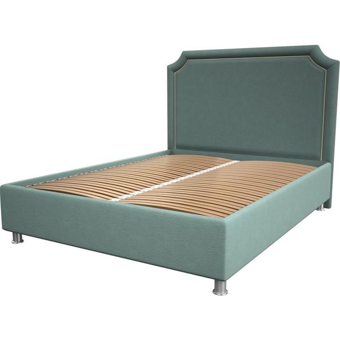 Кровать OrthoSleep Федерика aqumarine ортопед. основание 200x200