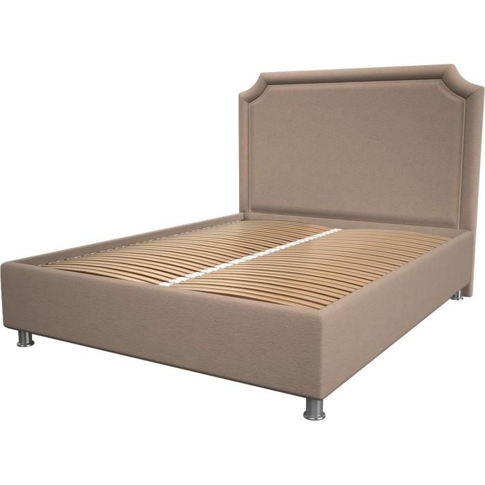 Кровать OrthoSleep Федерика cream ортопед. основание 200x200