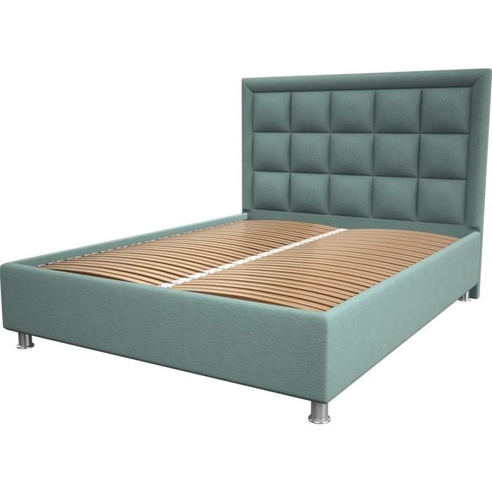 Кровать OrthoSleep Альба aqumarine ортопед. основание 90x200